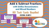 5.NF.1 Add & Subtract Fractions with Unlike Denominators T