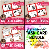 *BUNDLE* 5.NF.1 & 5.NF.2 Add & Subtract Fractions (Unlike
