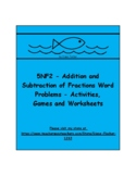 5NF2 - Addition and Subtraction Word Problems - Activities