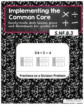 5.NF.B.3 Fractions as a Division Problem
