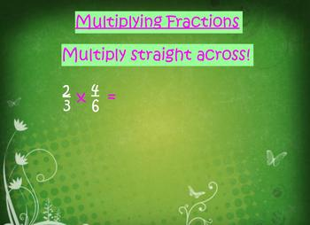 5.NF.4, 5.NF.6, 5.NF.7 Multiplying and Dividing Fractions Word Problems