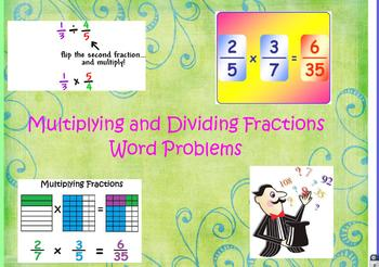 5.NF.4, 5.NF.6, 5.NF.7 Multiplying and Dividing Fractions