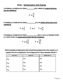 5NF4 Multiplication as Scaling Introductory Notes