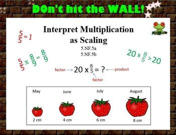 5.NF.5 Interpret Multiplication as Scaling