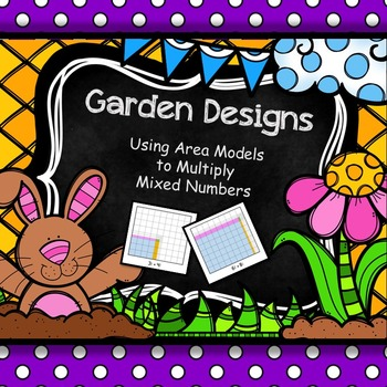 5.NF.6 - Area Model Garden Designs