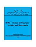 5NF7 - Division of Unit Fractions - Activity and Worksheets