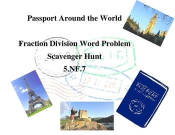 5.NF.7 Scavenger Hunt Around the World