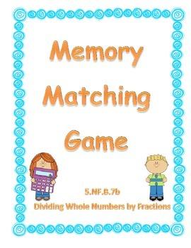 5.NF.B.7b Matching Cards