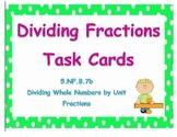5.NF.B.7b Task Cards
