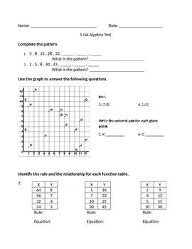 5.OA Test