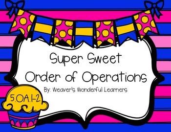 5.OA.1-2 Task Cards