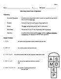5.OA.1 Study Guide & Assessment