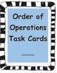 5.OA.1 and 5.OA.2_Orders of Operations Foldable plusTask Cards