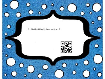 5.OA.2 QR Activity