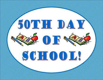 5Oth Day of School Photos