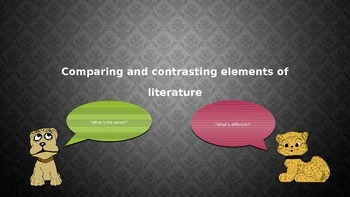 5.RL.3: Compare and Contrast