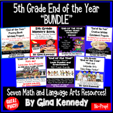 "5th Grade ""End of the Year"" Bundle"