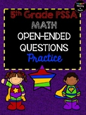 5TH GRADE MATH: OPEN-ENDED PSSA TEST PREP