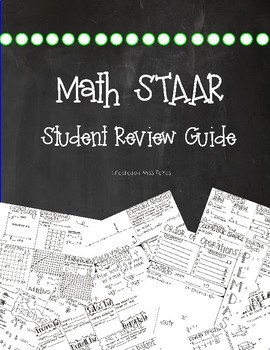 5TH GRADE STAAR MATH REVIEW PACKET {2017}