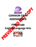 5TH Grade CCSS ELA Assessment Bundle
