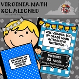 5TH Grade Math 2016 Virginia SOL Interactive Notebook