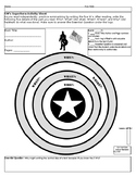 5W's Superhero Reading Activity Sheet