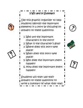 5Ws and H Summary