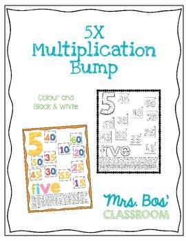5X Multiplication Bump Game