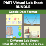 NGSS and 5e Explore PhET Physical Science Lab Bundle Googl