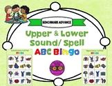 5h. Benchmark Advance Sound Spell ABC Upper/Lowercase Bingo (2 Sets)