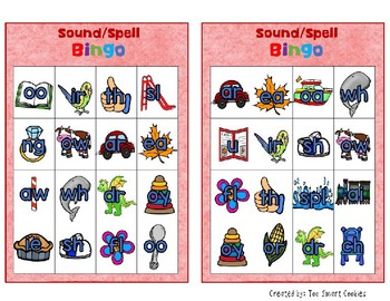 5i. Benchmark Advance Sound Spell Bingo