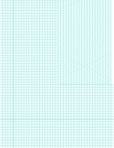 5mm Isometric Triangle and Graph Paper