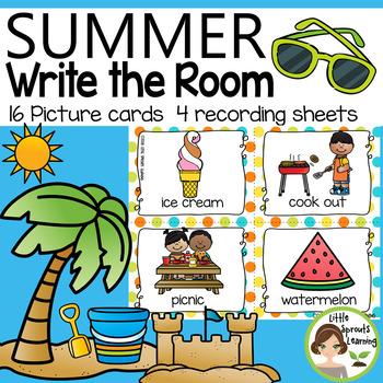 Summer Write the Room