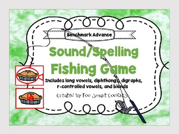 5p. Benchmark Advance Sound Spell Fishing Center (long vowels, digraphs, blends)