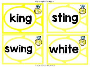 5q. BA Sound Spelling Word Fishing Game (long vowel & digraphs)