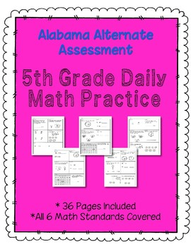 5rd Grade AAA Daily Practice MATH