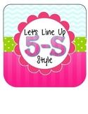 5s Line  - classroom management