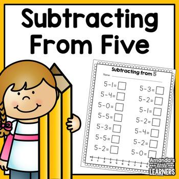 Basic Subtraction Worksheet