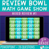 5th Grade Math Review #1 Game Show End of Year