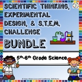 5th & 6th Grade Science BUNDLE: Experimental Design Unit &