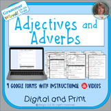 5th-6th Grades: Part 5 Adjectives and Adverbs--Grammar Wired!