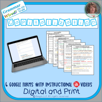 5th 6th grades part 9 capitalization grammar wired