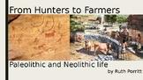 5th-6th grade Social Studies powerpoint {Paleolithic and Neolithic life} New! :)