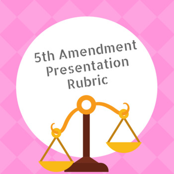 Bill of Rights:  5th Amendment Presentation