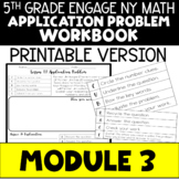 5th Application Problems - Engage NY Module 3 - Printable