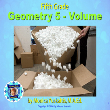 Common Core 5th - Geometry 5 - Volume