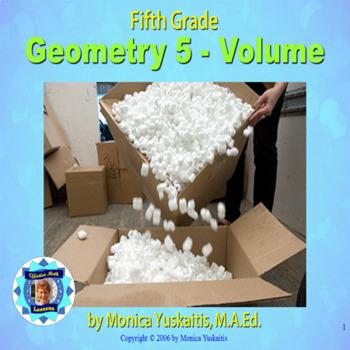 Common Core 5th - Geometry 5 - Volume
