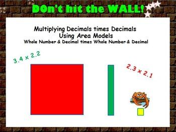 5th Common Core Math Bundle: Multiplying Decimals