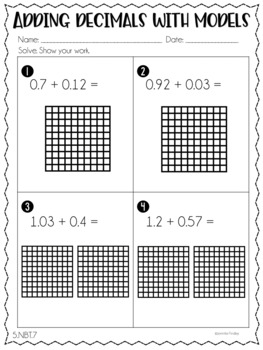 5th Grade Math Homework - Fifth Grade Common Core Math Printables