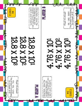 Task Tents™: Numbers in Base Ten {5th Grade}